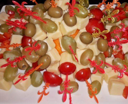 Oliven Käse Spieße