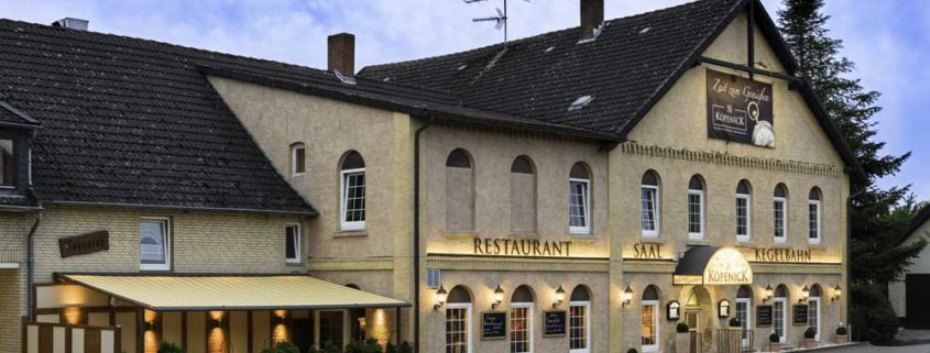 *Zum Köpenick* - Restaurant, Festsaal, Kegelbahn